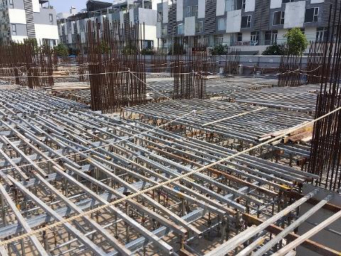 Công tác thi công kết cấu tầng 1