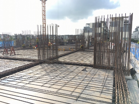 Công tác thi công kết cấu tầng 2