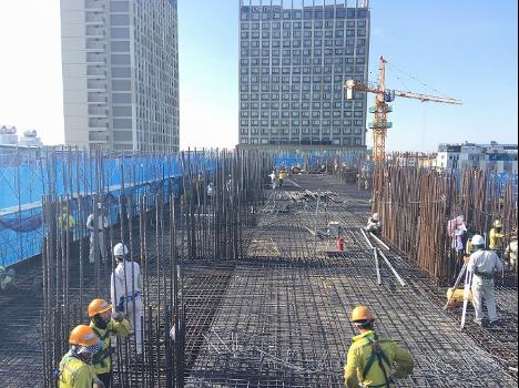 4F Construction work